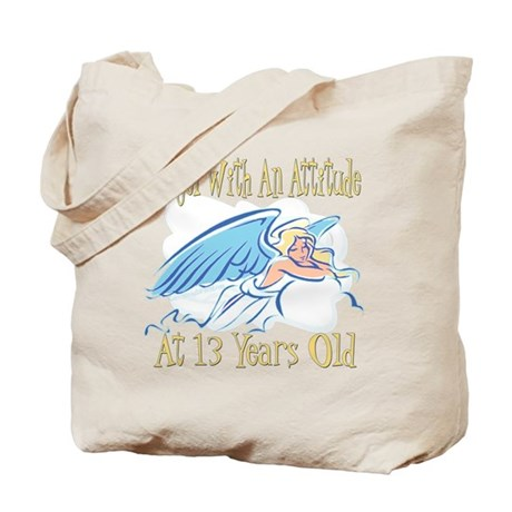 Angel Attitude 13th Tote Bag