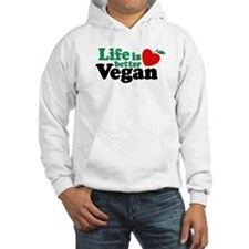 Life is Better Vegan Jumper Hoody