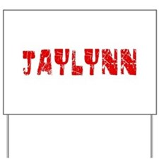 Jaylynn Faded (Red) Yard Sign