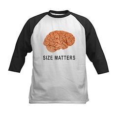 Size Matters Kids Baseball Jersey