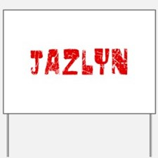 Jazlyn Faded (Red) Yard Sign
