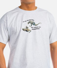 """Fun & Games"" Dryptosaurus T-Shirt"