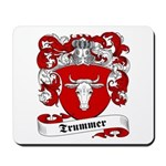 Trummer Family Crest Mousepad