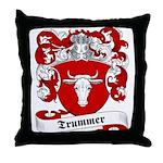 Trummer Family Crest Throw Pillow