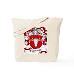 Trummer Family Crest Tote Bag