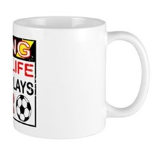 No Life Soccer Brother Mug