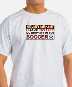 No Life Soccer Brother T-Shirt