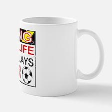 No Life Sister Soccer Mug
