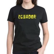 Ecuador Faded (Gold) Tee