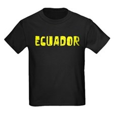 Ecuador Faded (Gold) T