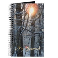 Snowy Sunrise Journal