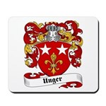 Unger Family Crest Mousepad