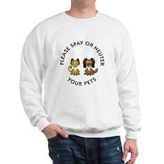 Spay or Neuter Sweatshirt