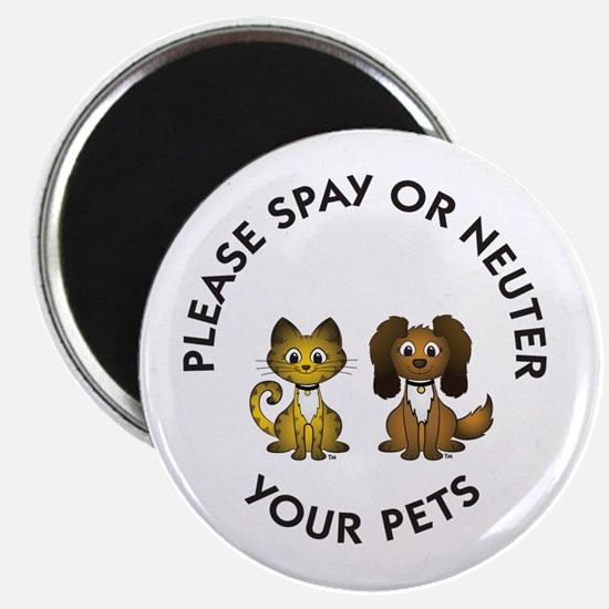 Spay or Neuter Magnet