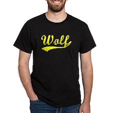 Vintage Wolf (Gold) T-Shirt