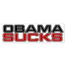 Obama Sucks Bumper Bumper Sticker
