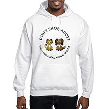 Don't Shop, Adopt Hoodie