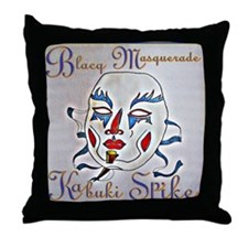 Kabuki Spike Throw Pillow