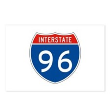 Interstate 96, USA Postcards (Package of 8)