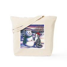 Snowcats Tote Bag