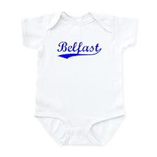 Vintage Belfast (Blue) Infant Bodysuit