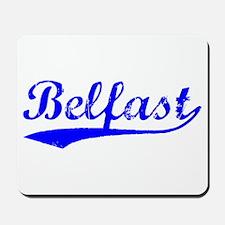 Vintage Belfast (Blue) Mousepad
