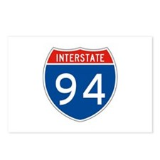Interstate 94, USA Postcards (Package of 8)
