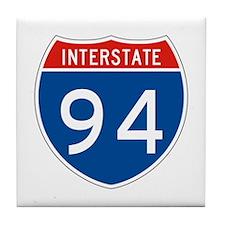 Interstate 94, USA Tile Coaster