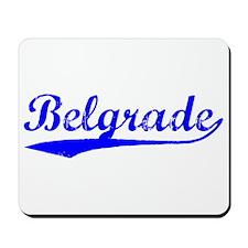 Vintage Belgrade (Blue) Mousepad
