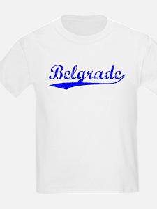Vintage Belgrade (Blue) T-Shirt