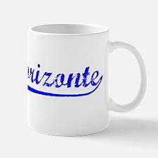 Vintage Belo Horiz.. (Blue) Mug