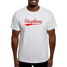 Vintage Stephen (Red) T-Shirt