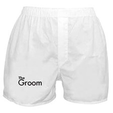 The Groom Boxer Shorts