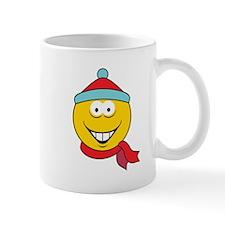 Winter Fun Smiley Face Mug