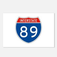 Interstate 89, USA Postcards (Package of 8)
