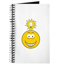 Bright Idea Smart Smiley Face Journal