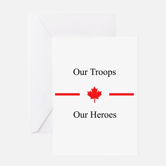 Our Heroes Greeting Card