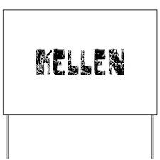 Kellen Faded (Black) Yard Sign