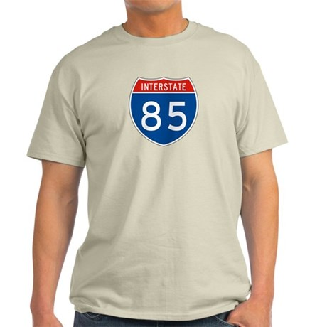 Interstate 85, USA Light T-Shirt