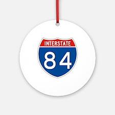 Interstate 84, USA Ornament (Round)