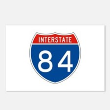 Interstate 84, USA Postcards (Package of 8)