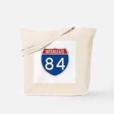 Interstate 84, USA Tote Bag