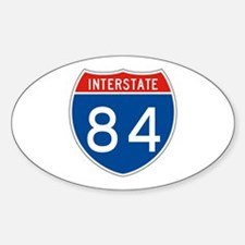 Interstate 84, USA Oval Decal