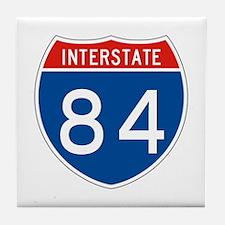 Interstate 84, USA Tile Coaster