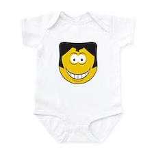 Elvis Impersonator Smiley Face Infant Bodysuit