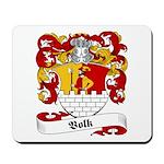 Volk Family Crest Mousepad