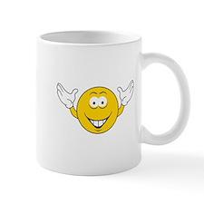 Cheering Smiley Face Mug