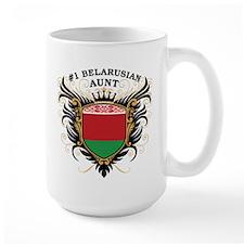 Number One Belarusian Aunt Mug