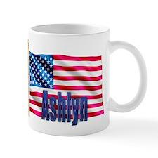 Ashlyn Personalized USA Flag Mug