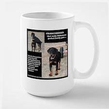 Doberman Characteristics Mug